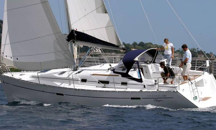 Charter Oceanis 343 from Yerseke the Netherlands : Beneteau Oceanis 343 Clipper from www.venturi-sailing.nl size 760 x 458 jpeg 89kB