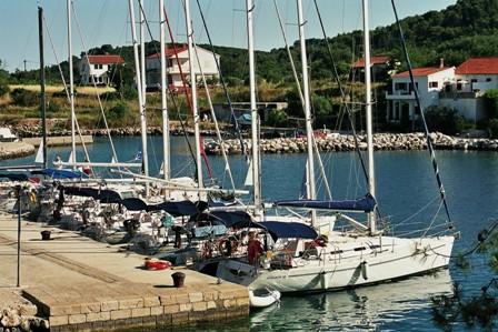 flottielje groep in begunge